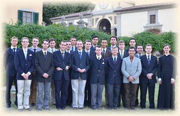 First Year Seminarians