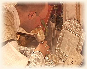 Latin Mass Consecration