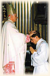 Ordination of Msgr. Schmitz by then-Cardinal Ratzinger