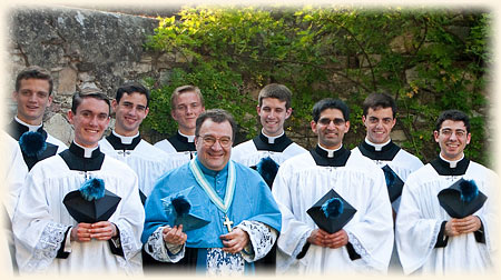 Newest class of seminarians