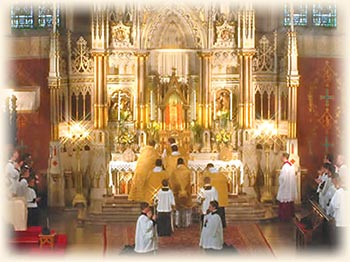Pontifical High Mass with Archbishop Burke